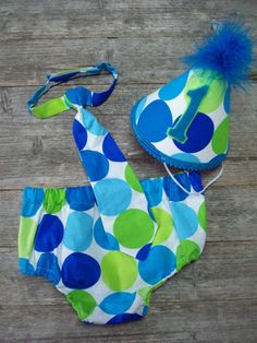 1st B-Day Cake Smash Outfit
