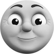 El Tren Thomas Saludando A Sus Amigos En Viajes Para