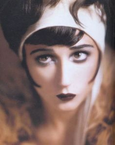 demi moore as clara bow - transformation by kevyn aucoin