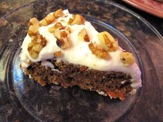 The best healthy carrot cake ever. #glutenfree #healthy #desserts