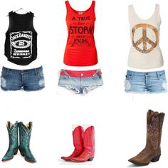 """""""Dukes & Boots"""" by terah-jack on Polyvore"""