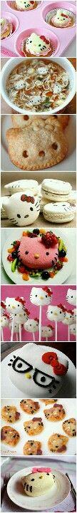 Hello Cute Food! Hello Kitty culinary delights!