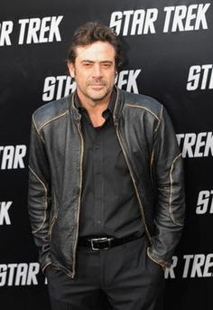 "Jeffrey Dean Morgan at the premiere of ""Star Trek."""
