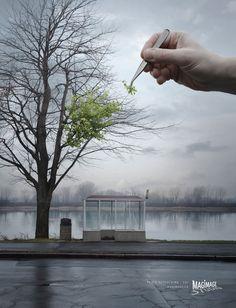フランスのフォト調整ソフトの広告 : 【天才】超おもしろ広告・デザインまとめ - NAVER まとめ