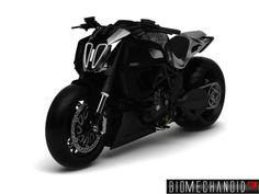 Conceptual Ducati Diavel
