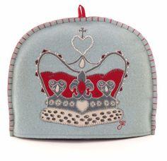 Diamond Jubilee Royal Crown Tea Cosy (via Shop - The Chelsea Magazine Company)