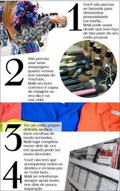 Algumas observações simples (porém valiosas) do que a moda e a beleza podem nos ensinar