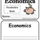 This is a simple vocabulary book created to accompany any first grade economics unit. I utilized the social studies unpacking documents for first g...