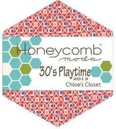 30s PLAYTIME Honey Comb by Chloe's Closet for by StacksOfStash, $14.50