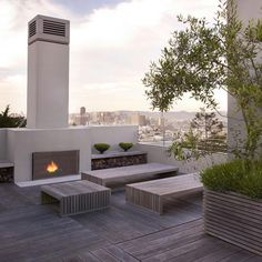 Blasen Landscape Architecture Luxury Planters at Home Infatuation Blog