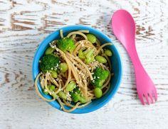 Gesunder Nudelsalat für Kinder mit Broccoli