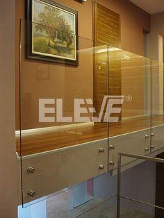 Baranda de Diseño Especial, Placas de Vidrio Tempaldo