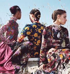 The Patternbank team stumbled across this beautifully styled editorial shoot from US Allure magazine