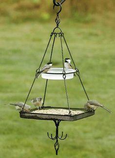 Multi Level Platform Bird Feeder: via duncraft.com