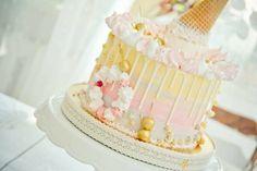Drip z białej czekolady Vanilla Cake, Cake Recipes, Birthday, Desserts, Christmas, Food Cakes, Frostings, Tailgate Desserts, Xmas