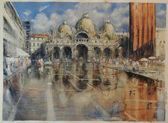 "Sergiy Lysyy Venice  ""Piazza San Marco""  53х73 2017"
