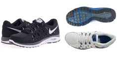 Sneakers for running... SCARPE NIKE DUAL FUSION RUN 2 599541002 599541100 NERO BIANCO