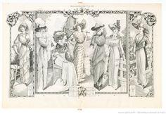 Élégances féminines. Revue mensuelle de la grande couture parisienne