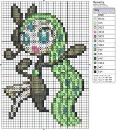 648 - Meloetta by Makibird-Stitching.deviantart.com on @deviantART