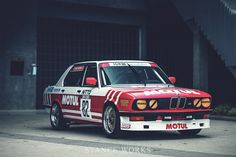 Reimagining our BMW Group A Tribute Car in Motul colors E28 Bmw, Bmw Alpina, E30, Bmw Vintage, Vintage Racing, Sport Cars, Race Cars, New Mods, Bmw Love