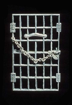 """January Women's Rights activist Alice Paul is born. She was arrested in 1917 for picketing the White House, where she went on a hunger strike and was forcibly fed. This """"Jailed for Freedom"""" pin commemorated her efforts. Note the heart-shaped lock. Anti Suffrage, Alice Paul, Suffrage Movement, Party Flags, Right To Vote, Light Of Life, Women In History, Art History, Library Of Congress"""