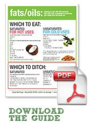 Fats: Which to Eat & Which to Ditch