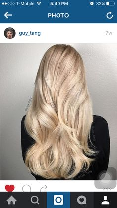 13 best butter blonde hair images in 2016 Butter Blonde Hair, Cream Blonde Hair, Yellow Blonde Hair, Blonde Highlights On Dark Hair, Creamy Blonde, Cool Blonde Hair, Blonde Color, Lob, Different Blond