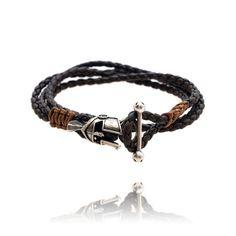 Silver Praetorian bracelet for man Bracelets For Men, Silver, Jewelry, Jewellery Making, Men Bracelets, Jewels, Jewlery, Jewerly, Jewelery