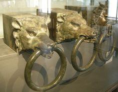 Testate di bagli in bronzo da nemi, epoca di caligola, 37-41 dc. - Nemi ships - Wikipedia, the free encyclopedia