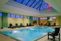 The Westin Boston Waterfront Hotel Indoor Heated Pool