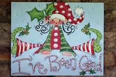 SCRIBBLES w/ HOLLY personalized handpainted by DAKRIsinclair
