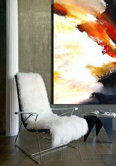Painting by Dan Bunea, living abstract paintings, www.danbunea.ro