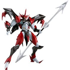 Tekkaman Blade Space Knight Tekkaman Evil Figma (Non-scale PVC Pre-painted Movable ABS  #ActionToyFigures