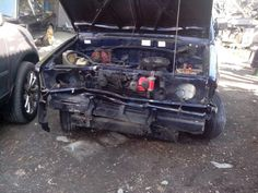 Toyota Kijang Pick Up Crashed