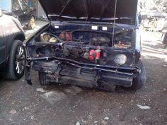 Toyota Kijang Pick Up Crashed