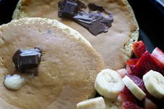 Icelandic chocolate pancakes are ready to be devoured!