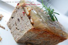 Pasztet drobiowy z suszonymi grzybami Banana Bread, Recipies, Food And Drink, Desserts, Polish, Recipes, Tailgate Desserts, Deserts, Vitreous Enamel