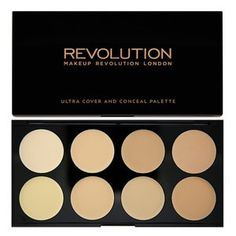 Makeup Revolution Ultra Cover and Conceal Palette- Light
