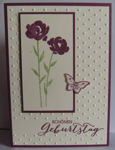 Birthday, Stampin´up, Painted Petals