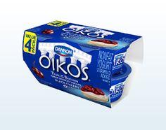 Dannon Oikos Black Cherry Fat Free Greek Yogurt – 4-Packs