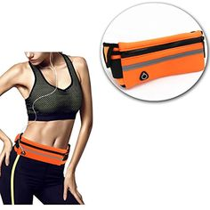 Running Waist Pack Pouch Belt Phone Holder Reflective Adjustable Waistband for Running Jogging Hiking Gym Yoga Travel and Fitness -- Read more reviews of the product by visiting the link on the image. (This is an affiliate link) #Running