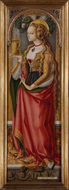 Mary Magdalene ca. 1487 Carlo Crivelli (Venice, 1430-1435- Ascoli Piceno, 1494/1500) Amsterdam, Rijksmuseum