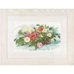 Panier de fleurs - Lanarte