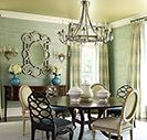 Casual but darling dining room