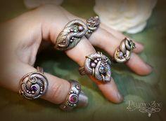 Rings from Plumvine