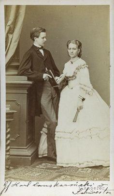 Count Karol Lanckoroński and his sister Elżbieta