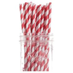 Stripe Paper Straw