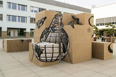 Optical Illusions With Street Art Style -2
