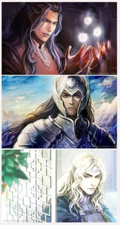 Remember that we lived Feanor, Fingolfin and Finarfin by Dakkun39