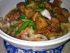 Yummy Recipes: Braised Pork with Cabbage